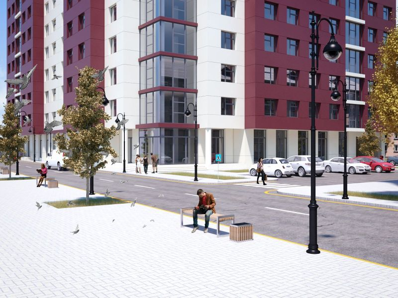 Residential Complex in Makhachkala (Russia)