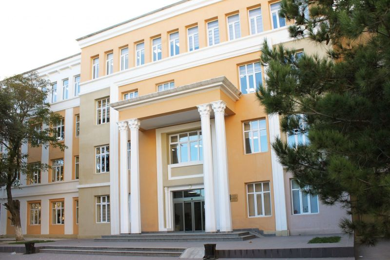 Reconstruction of facades of Azerbaijan State  University of Architecture and Construction